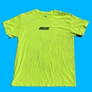 Billie Eilish Neon Yellow Concert Tee